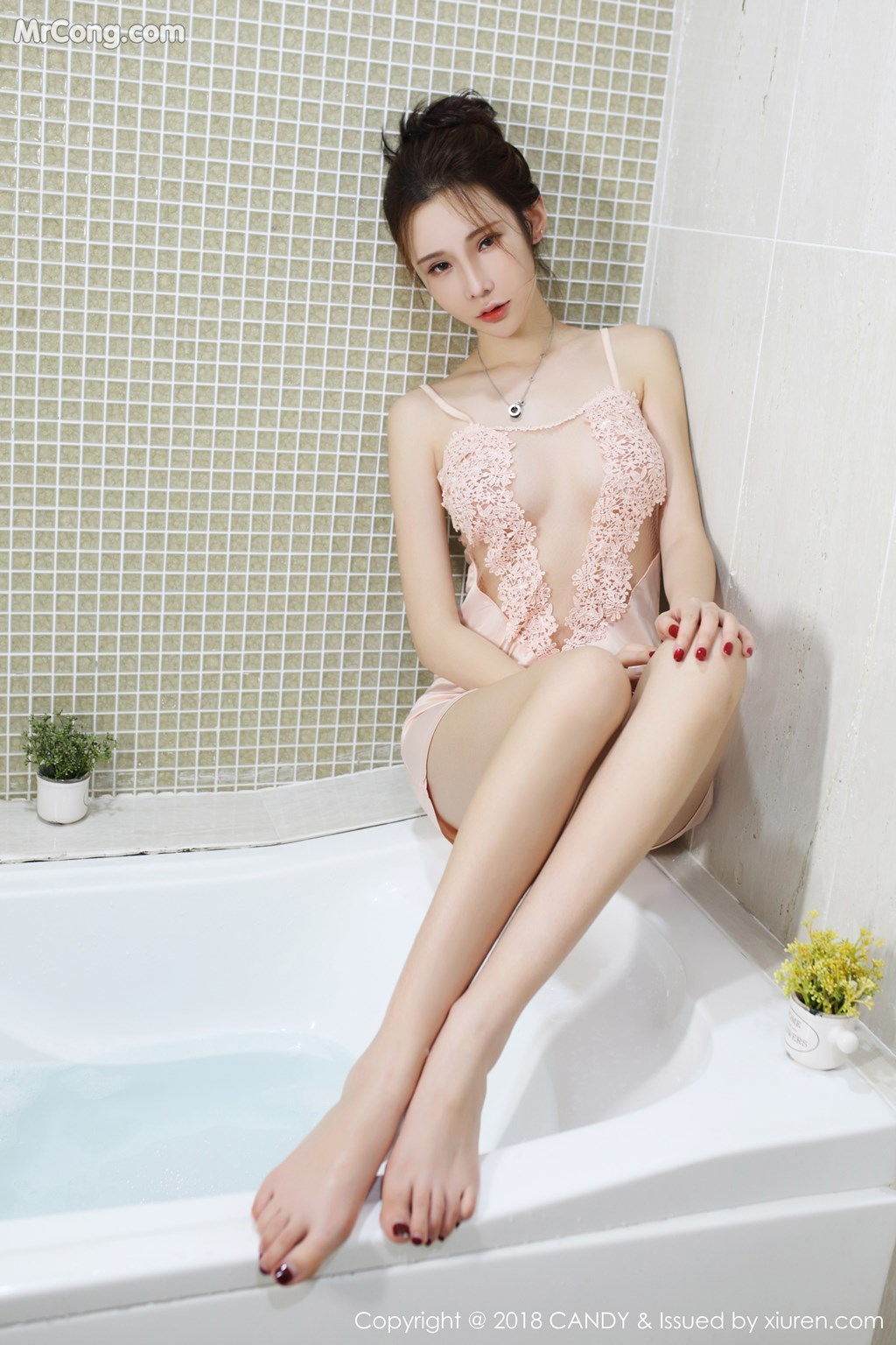 Image CANDY-Vol.055-Irene-Meng-Qi-Qi-MrCong.com-004 in post CANDY Vol.055: Người mẫu Irene (萌琪琪) (55 ảnh)