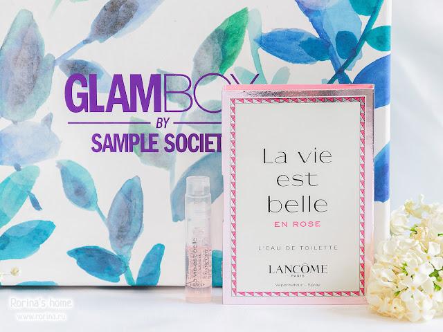 LANCOME Туалетная вода La vie est Belle En Rose: отзывы