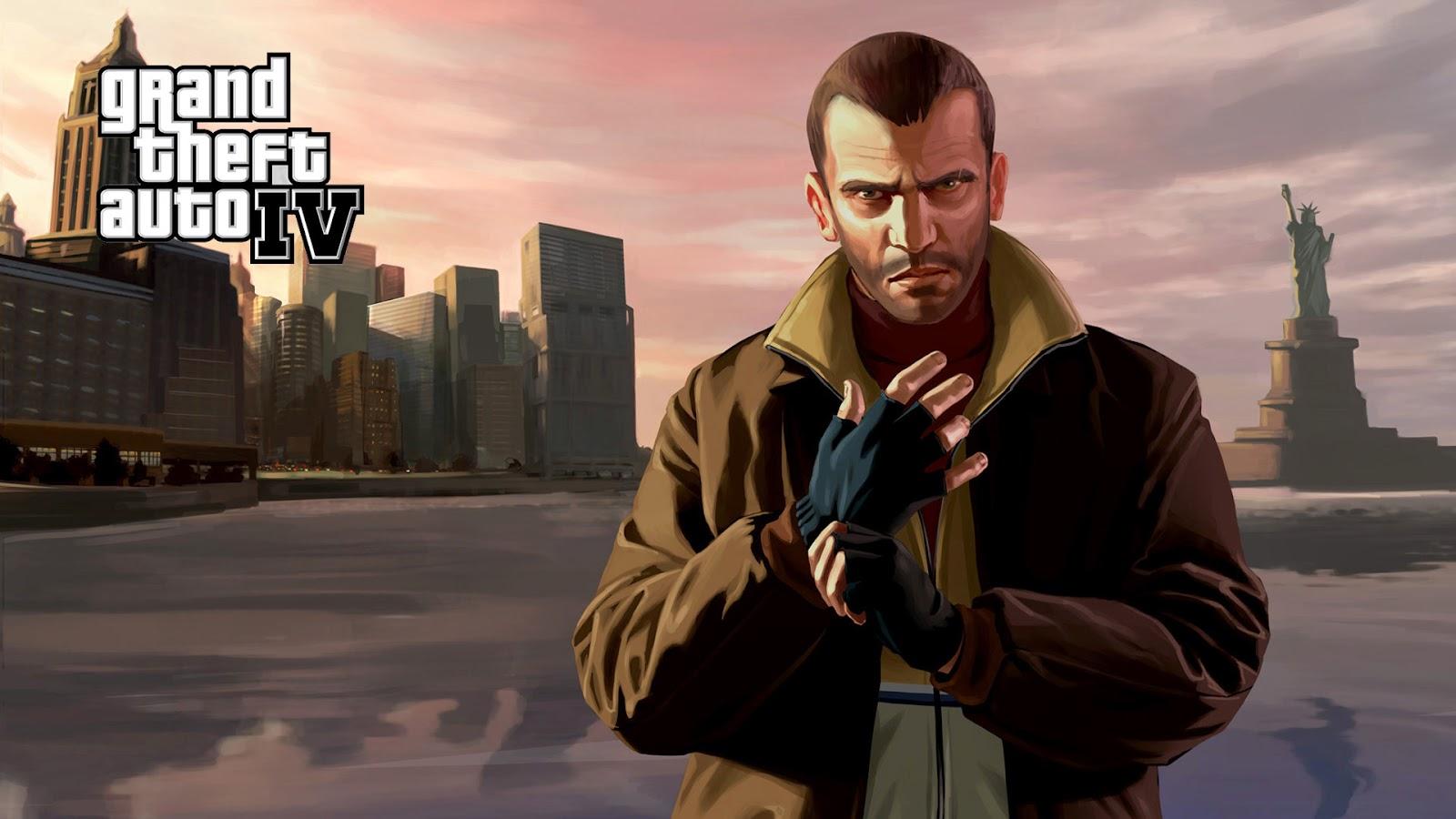 تحميل لعبة جاتا Free download GTA IV - تحميل العاب