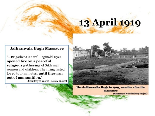ਅਜਦ ਕਲ ਮਚ 13 April 1919 De Sahsheeda Nu Kot Kot