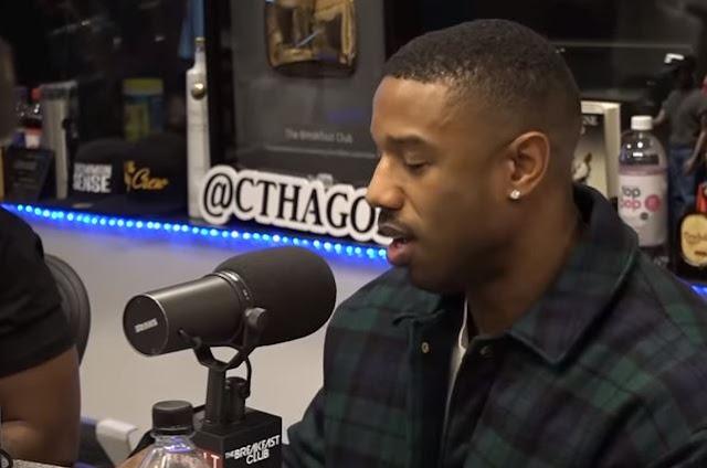 Michael B. Jordan Dodges Relationship Questions, Talks Life Post-Black Panther + More