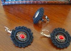 http://creacionesbatiburrillo.blogspot.com.es/2013/11/anillo-y-pendientes-crochet.html