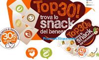 Logo Nucis ''Top 30! Trova lo snack del benessere'' e vinci gratis cofanetti Smartbox e calendari Nucis