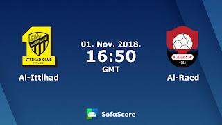 مشاهدة مباراة الإتحاد والرائد بث مباشر بتاريخ 01-11-2018 الدوري السعودي