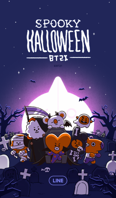 BT21: Halloween Party