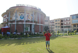 Cover Photo: Performance at Chandigarh - Chitkara International School