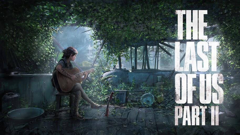 Ellie Guitar The Last Of Us 2 4k Wallpaper 5 2208