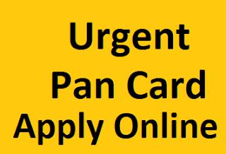 Urgent  Pan Card Banaye