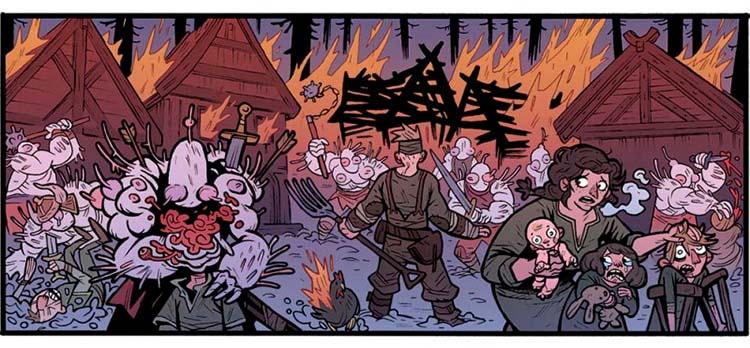 """Alienígenas del cómic """"El Rey Araña"""""""