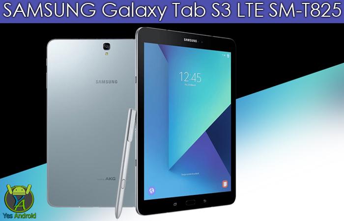 T825XXU1AQC1 | Galaxy Tab S3 LTE SM-T825