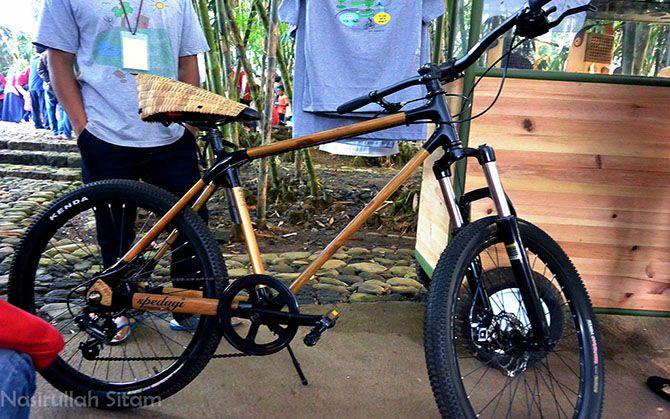 Sepedanya menggoda banget loh