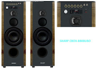 Harga Speaker Akrif SHARP CBOX-B808UBO