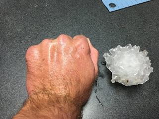 Hail, Large Hail, Baseball Sized Hail