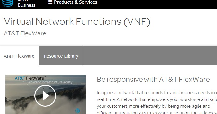 Voip Service Providers >> AT&T enhances FlexWare NFV solution and expands availability worldwide ~ Converge! Network Digest