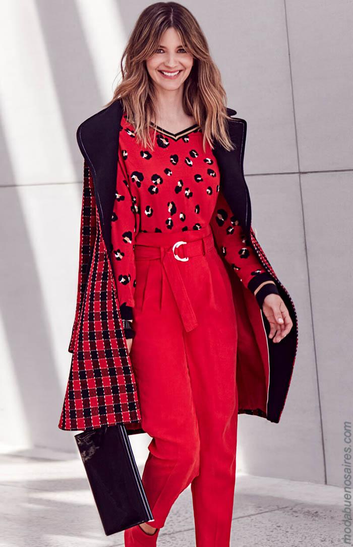 Moda otoño invierno 2019 ropa de mujer.