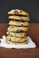 Cookies con chocolate y nueces
