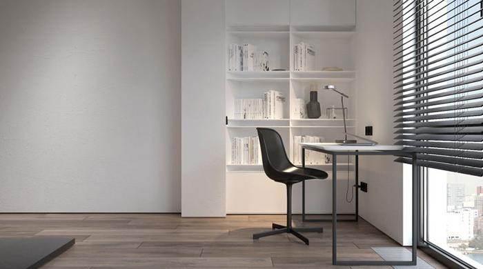 Thiết kế nội thất chung cư 60m2 cho vợ chồng trẻ- 8