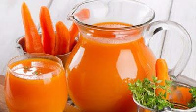 Jus wortel untuk detoksifikasi ginjal