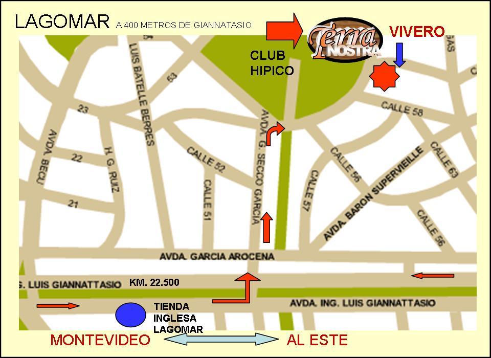 Localización De Una Casa En El Mapa: Terra Nostra: MAPA: Ubicación Del Vivero