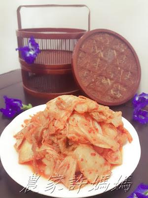 用農家許媽媽韓國泡菜煮暖呼呼韓式泡菜海鮮拉麵