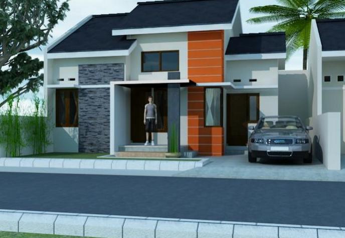 Desain Rumah  Minimalis Type 50  Modern Terbaru Design