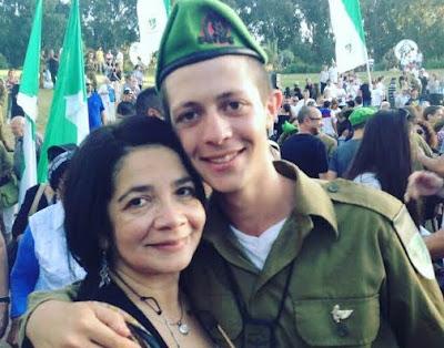 Soldado Colombiano Orgullo de pertenecer al Ejército Israelí