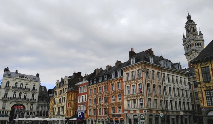 grand-place lille façades