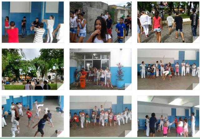 Escola da Família da Escola Yolanda  de Cananéia realiza Agita Família