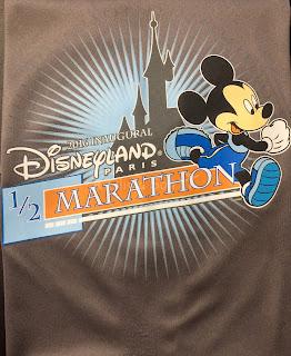 T-Shirt Semai-Marathon Disneyland Paris