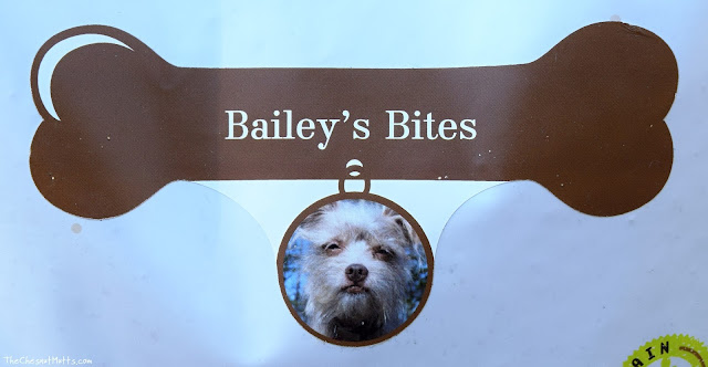 Bailey's customized dog food label from pawTree