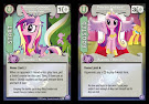 My Little Pony Princess Cadance, Loving Ruler The Crystal Games CCG Card