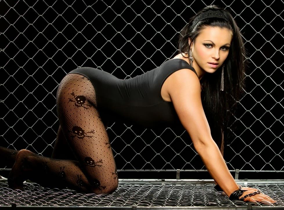 WWE Diva Aksana - Female Wrestling