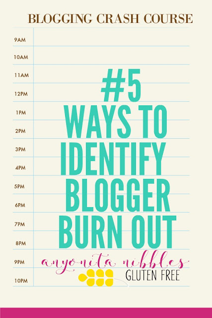 Learn the 5 telltale signs of blogger burn out and how to spot them creeping into your blog!