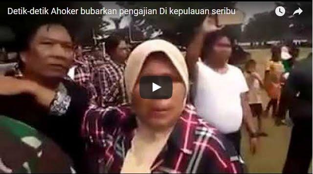 Beredar Video Pendukung Ahok-Djarot Bubarkan Pengajian di Pulau Seribu