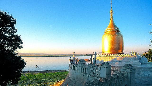 Bagan and Irrawaddy River