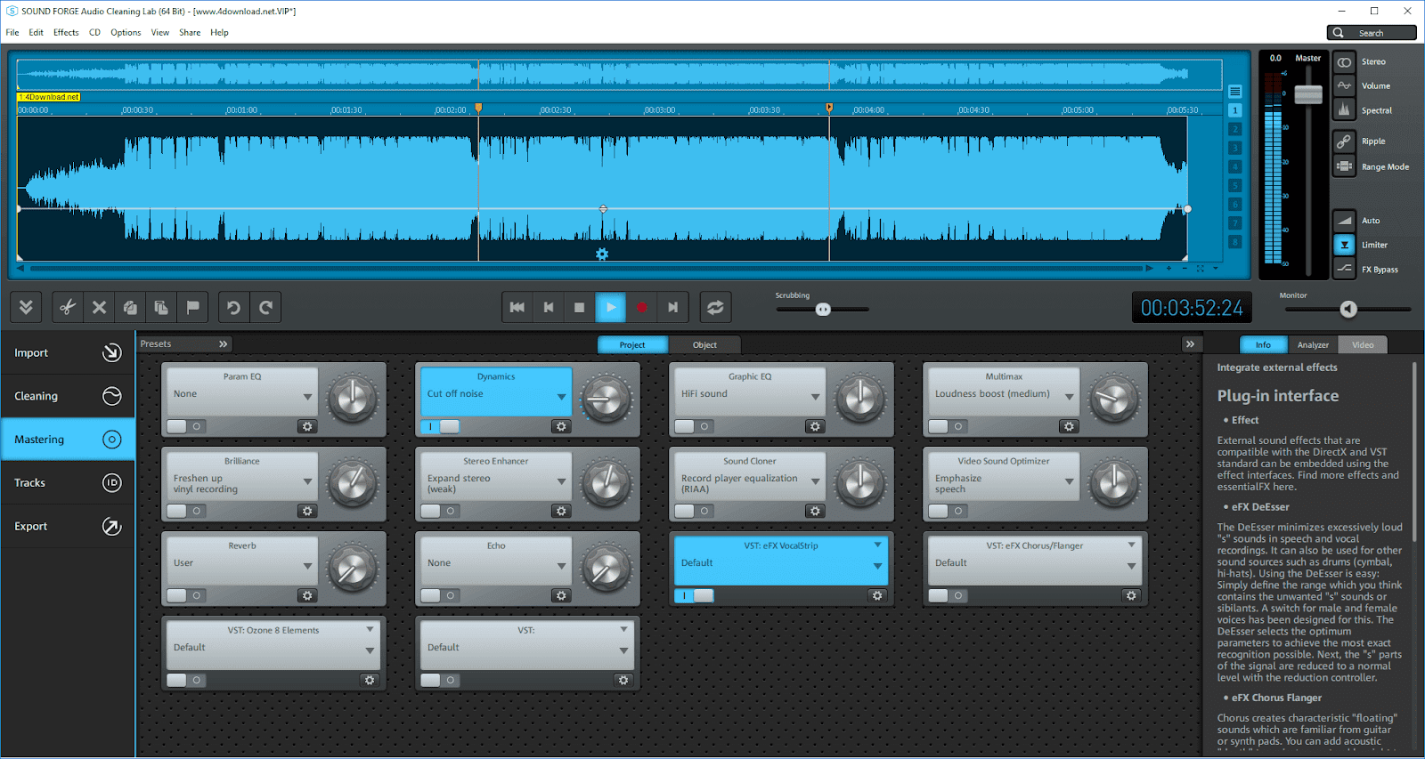 SOUND FORGE Audio Cleaning Lab v23.0.1.21 Full version