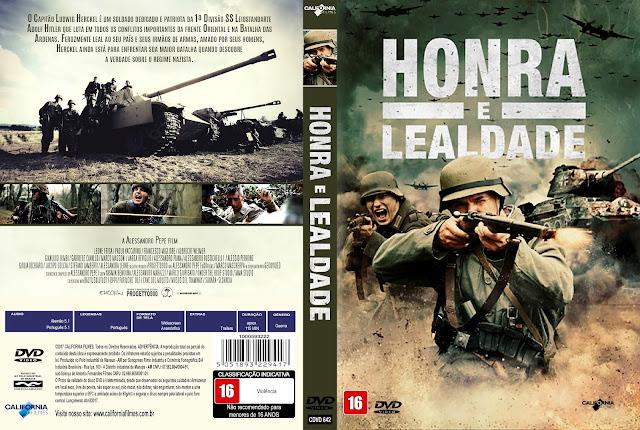 Capa DVD Honra e Lealdade [Custom]