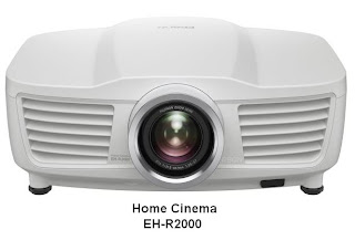 Epson Home Cinema Projectors EH-R2000 and EH-R4000