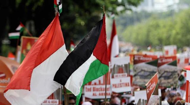 warga palestina bebas visa berkunjung ke indonesia