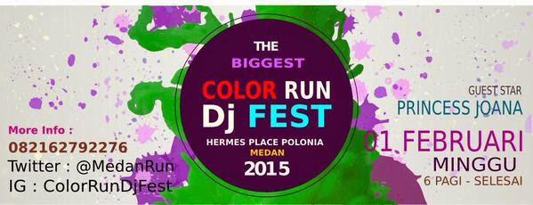 Medan Color Run 2015