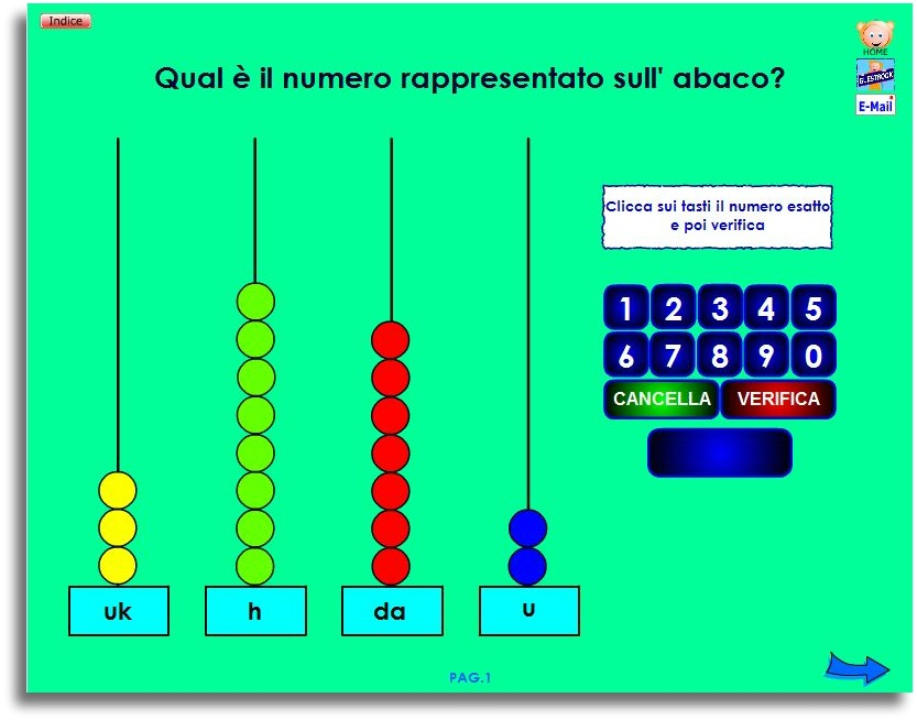 Computer e dintorni imparare giocando for Baby flash italiano doppie