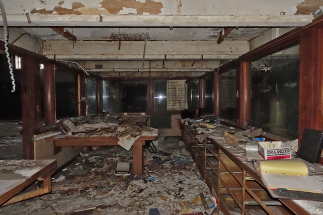 Abandoned Superfund Site Accurate Plating Company in Cleveland Ohio