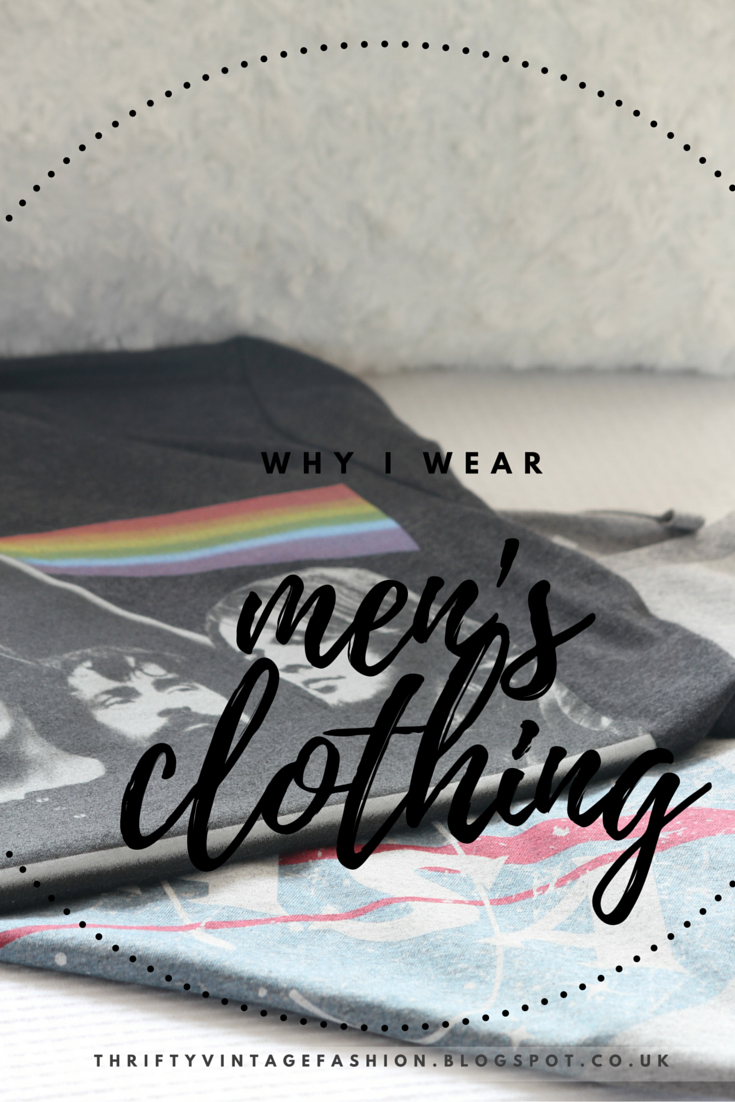 Why I Wear Men's Clothing feminism rant blogger UK