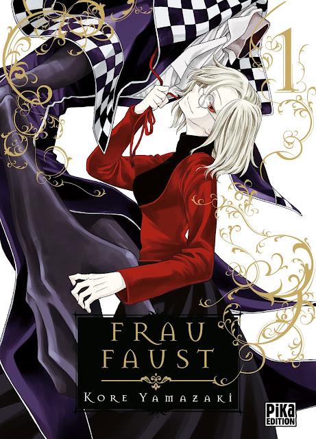 Pika Édition, Frau Faust, Manga, Actu Manga, Koré Yamazaki,