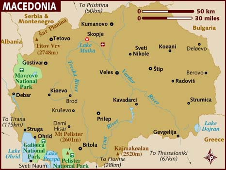 Macedonia Facts In Hindi