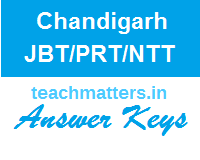 image : CHD JBT / NTT Answer Keys 2019 @ TeachMatters