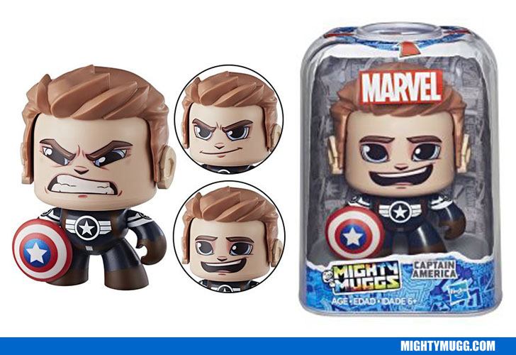 Captain America II Marvel Mighty Muggs Wave 3 2018
