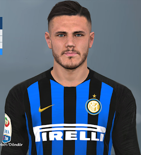 PES 2017 Faces Mauro Icardi by Facemaker Huseyn