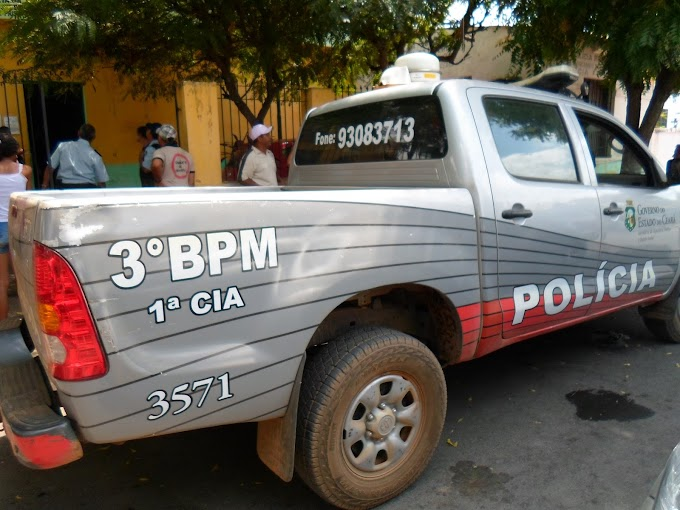 Mucambo-CE: Policia Militar prende homem suspeito de tráfico de drogas