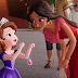 Crossover de Princesita Sofia y Elena de Avalor en la pantalla de Disney Junior